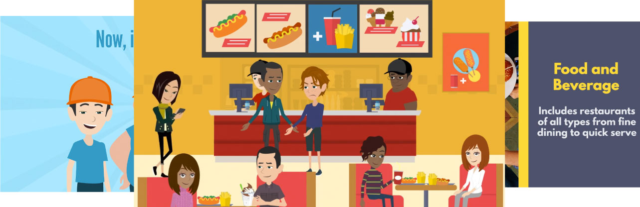 Salesboost Microlearning animated character