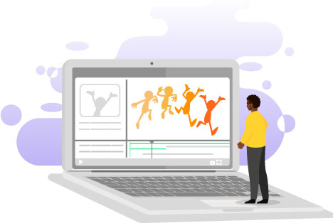 2D animation, eLearning animation, video animation